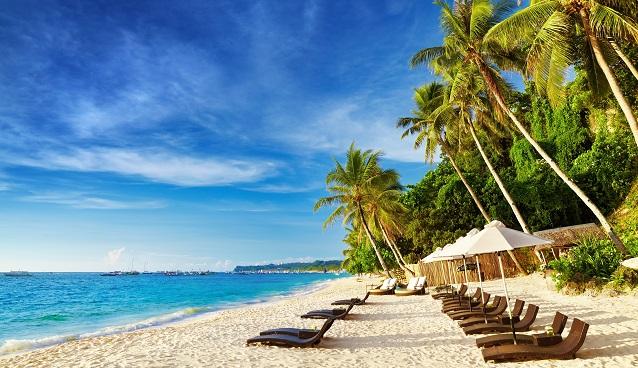 Island resort in the Philippines