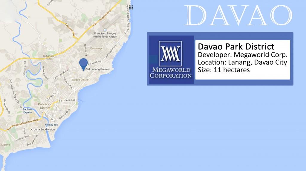 Megaworld's Davao Park District. Illustration by Cartier Gabrino.