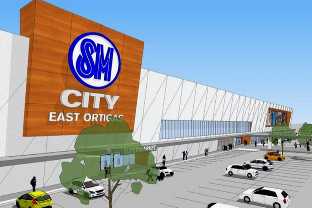 SM City East Ortigas SM Prime Holdings Philippine Retail Real Estate in 2017