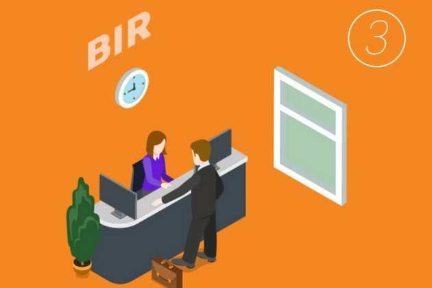 3_File documents at the BIR for the issuance of Certificate Authorizing Registration or BIR Clearance