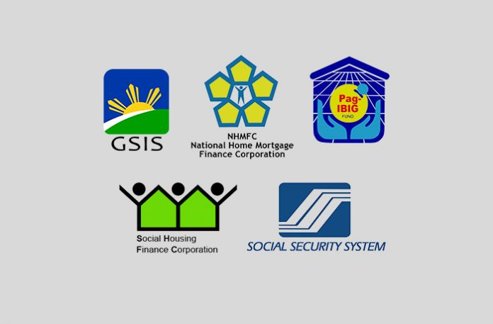 Housing Loans Offered by SSS, GSIS, Pag-IBIG, NHMFC, and SHFC