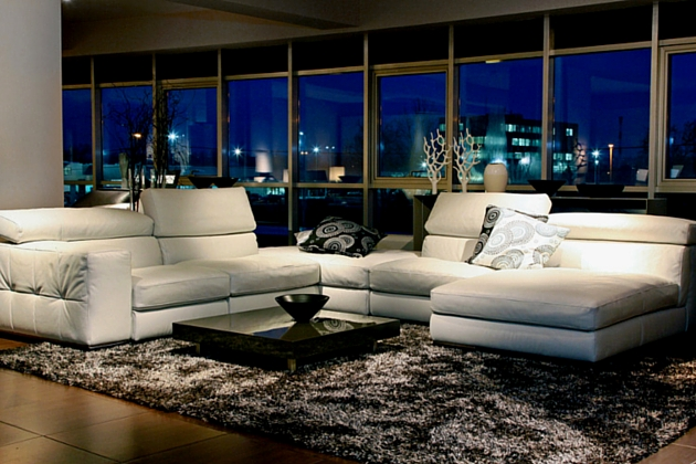 Living Area Of A Luxury Condo Ing Real Estate In The Philippines