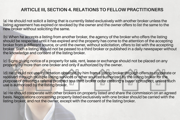 Real Estate Code Of Ethics What Licensed Brokers Need To Know Lamudi