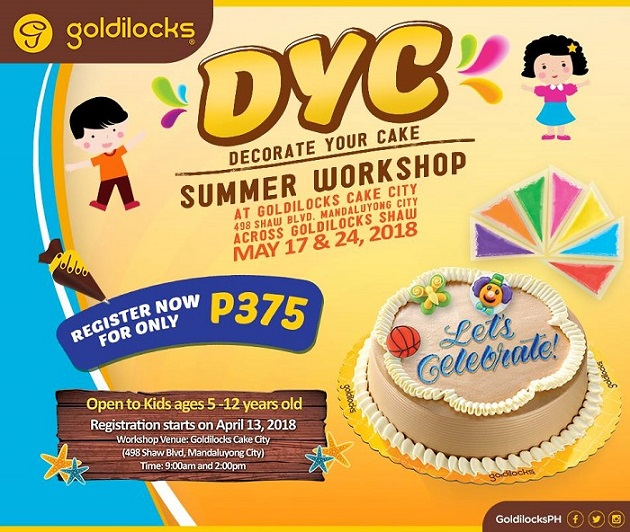 Summer 2018 Workshops And Classes For Kids In Metro Manila Lamudi