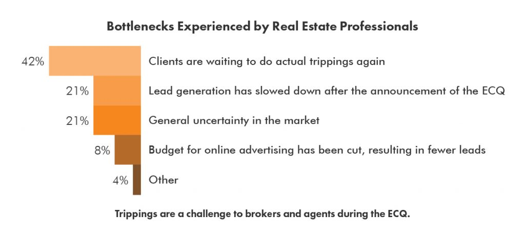 Bottlenecks Experienced by Real Estate Professionals