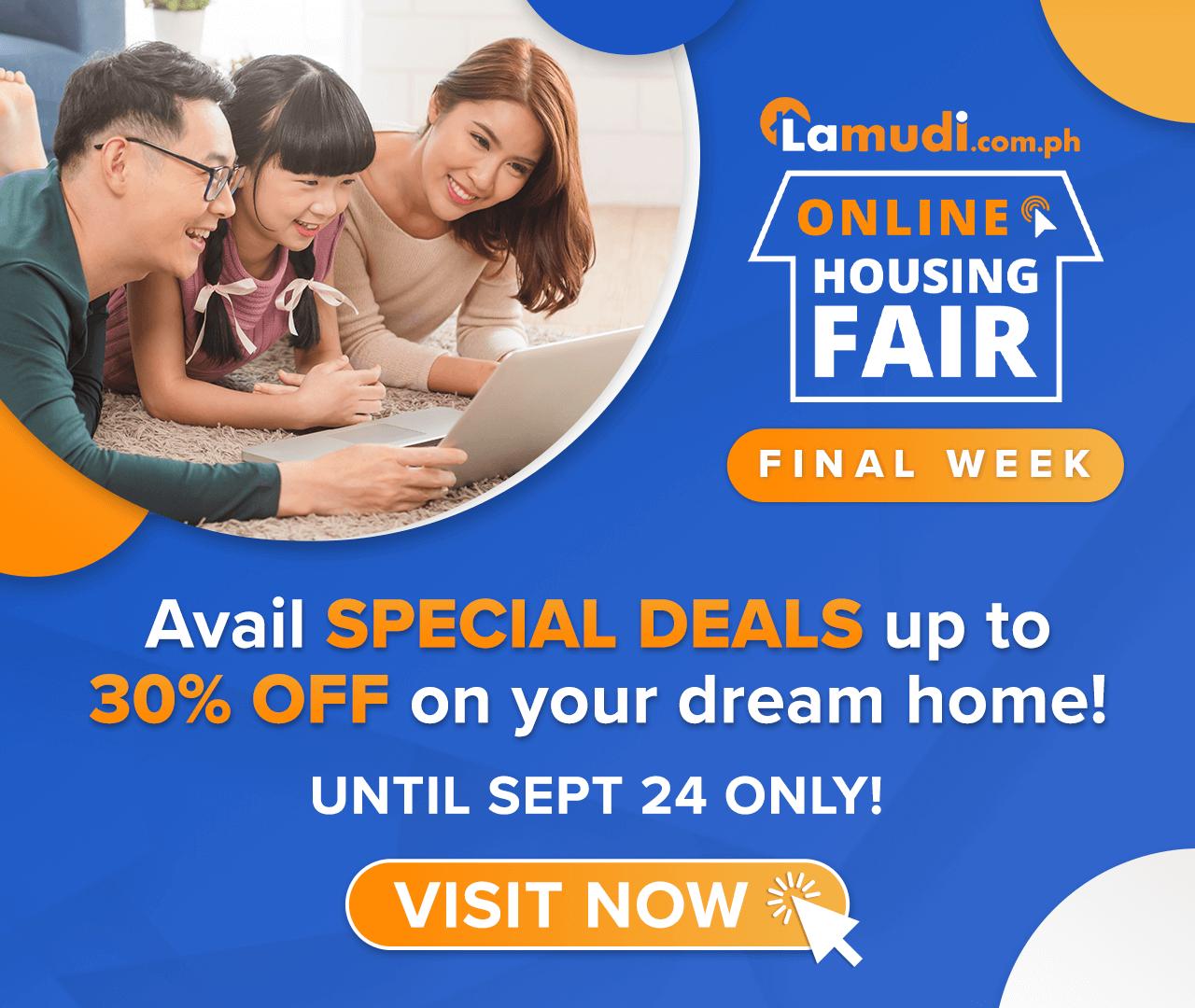 Visit the Lamudi Online Housing Fair!
