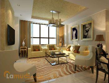 Living Room Concept In Condo For Sale Cebu City
