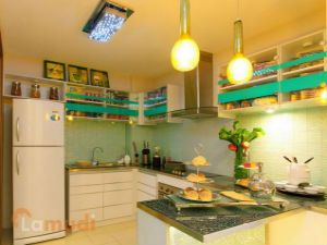 A Fully Equipped and Modern Kitchen in Your Flat