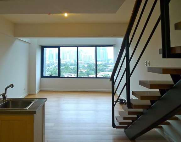 One rockwell makati 1br loft type w terrace for rent for Terrace 33 makati