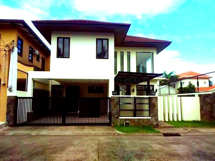 Unfurnished House With Back Garden For Rent In Angeles City