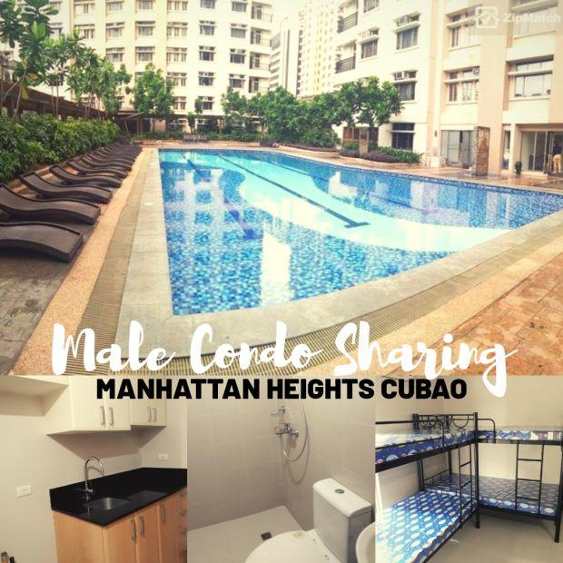 Manhattan Heights Cubao Male Condo Sharing