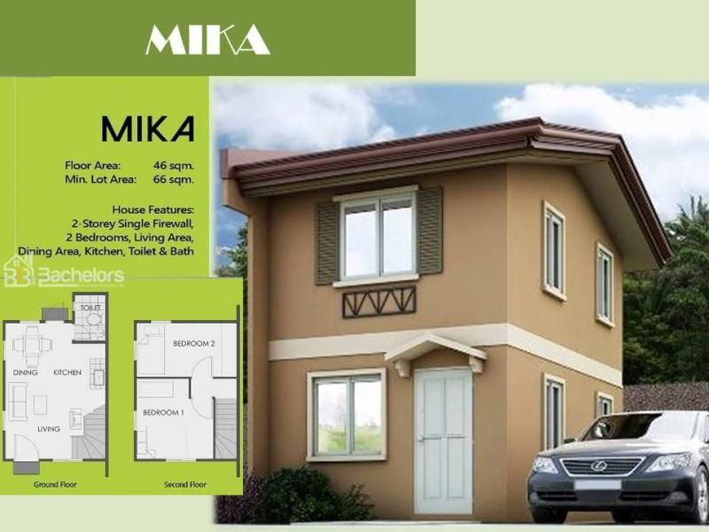 2 Bedroom Single Attached House In Camella Homes