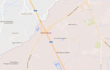 Area code of sta rosa laguna