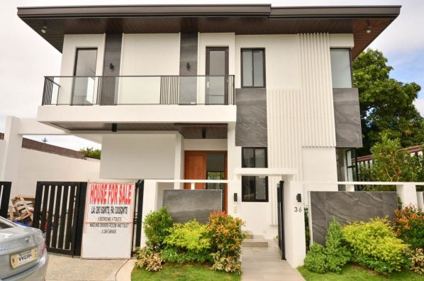Brand New Modern Zen Design House And Lot In Bf Homes Paranaque