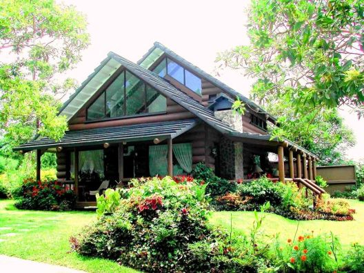 Brand New Log House Design For Sale Very Near Savemore Tagaytay